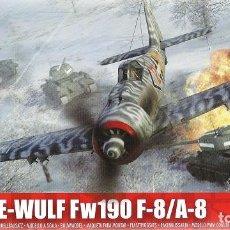 Radio Control: FOCKE-WULF FW 190F-8/A-8 1/72 AIRFIX. Lote 96130107