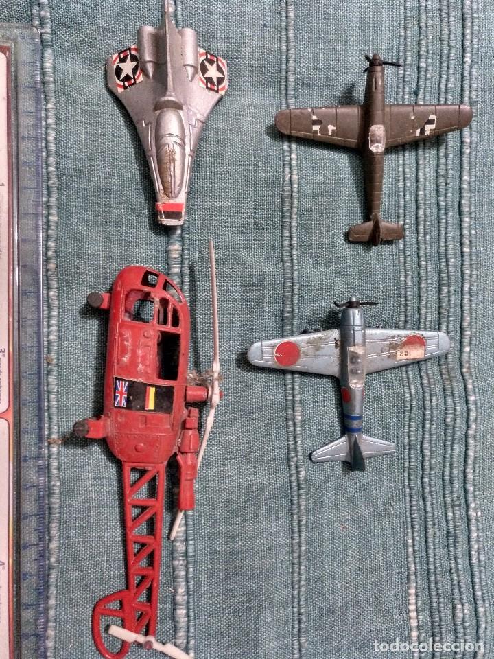 Radio Control: Siete piezas diversas. Defectos. - Foto 2 - 102380723