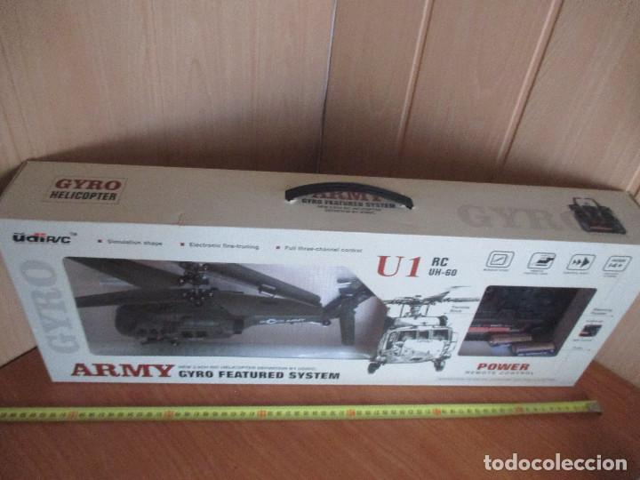 Radio Control: HELICOPTERO MILITAR U1 RC UH-60 - GIRO HELICOPTER REMOTE CONTROL - Foto 6 - 112974872