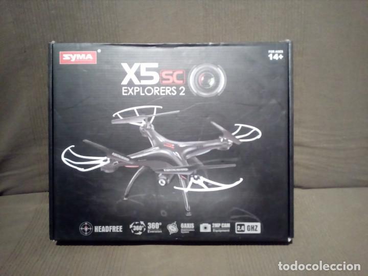 DRONE. SYMA X5SC EXPLORERS 2 - GYRO 2.4G.CONTROL REMOTO.CON CAMARA.- COLOR NEGRO. (Juguetes - Modelismo y Radiocontrol - Radiocontrol - Aviones y Helicópteros)