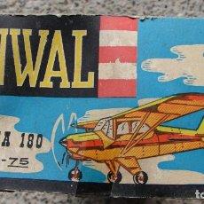Radio Control: AVIÓN CESSNA 180 H15 - RENWAL. Lote 108307223