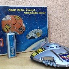 Radio Control: NAVE ESPACIAL AÑOS 70 COMMANDER SAUCER - ANGEL RADIO CONTROL - STAR WARS STAR TREK - NO FUNCIONA. Lote 108447263