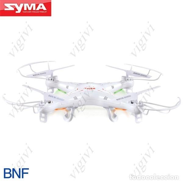 SYMA X5C 4 CANALES DE 6 EJES GYRO 2,4 GHZ RC QUADCOPTER DRON BNF-SIN MANDO NI CÁMARA (Juguetes - Modelismo y Radiocontrol - Radiocontrol - Aviones y Helicópteros)