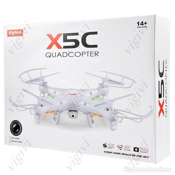 Radio Control: SYMA X5c 4 canales de 6 ejes Gyro 2,4 GHz RC QUADCOPTER DRON BNF-SIN MANDO NI CÁMARA - Foto 11 - 157243180