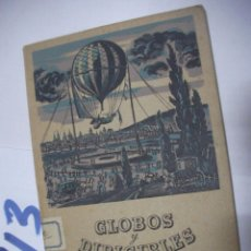Radio Control: ANTIGUO LIBRO GLOBOS DIRIGIBLES. Lote 112159587