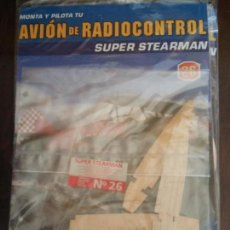 Radio Control: BJS. MONTA Y PILOTA. AVION DE RADIOCONTROL. SUPER STEARMAN, ALTAYA. NUMERO 26. COMPLETA TU COLECCION. Lote 114581547