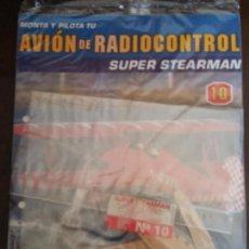 Radiocommande: BJS. MONTA Y PILOTA. AVION DE RADIOCONTROL. SUPER STEARMAN, ALTAYA. NUMERO 10. COMPLETA TU COLECCION. Lote 114581723