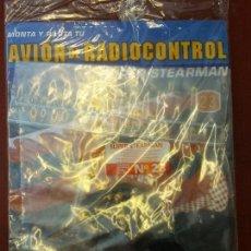 Radio Control: BJS. MONTA Y PILOTA. AVION DE RADIOCONTROL. SUPER STEARMAN, ALTAYA. NUMERO 23. COMPLETA TU COLECCION. Lote 114582095