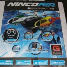 Radio Control: HELICOPTERO NINCO AIR.EUROCOPTER EC120.. Lote 115701466