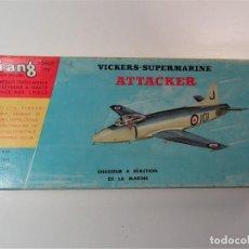 Radio Control: AVIÓN VICKERS-SUPERMARINE ATTACKER, MARCA TRIANG, ESCALA 1/72. Lote 116959623