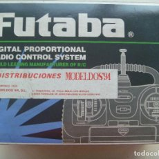 Radio Control: APARATO DE RADIO CONTROL FUTABA , MADE IN TAIWAN... EN SU CAJA. Lote 116964319