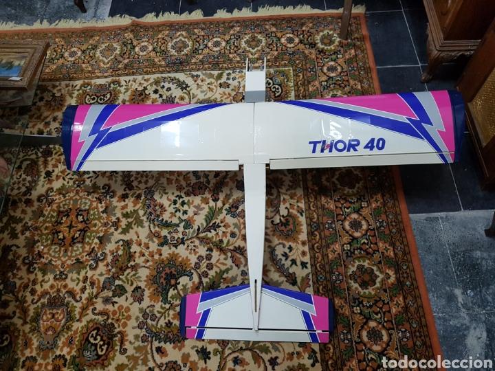 AVIONETA THOR 40 CON MOTOR O.S. MAX 15/25&40/46 'LA SERIES' SIN USAR (Juguetes - Modelismo y Radiocontrol - Radiocontrol - Aviones y Helicópteros)