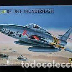 Radio Control: HELLER - RF - 84 F THUNDERFLASH 80417 1/48. Lote 118408255