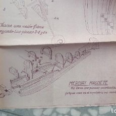 Radio Control: MERCURY MAGNETE CASA REYNA PLANO MAQUETA AVION. Lote 118617759