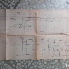Radio Control: PIPER SUPERCRUISER PLANO MAQUETA CASA REINA MADRID. Lote 118617879