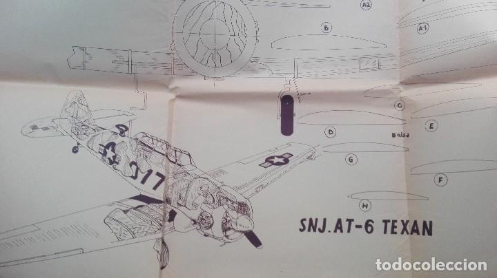 SNJ.AT-6 TEXAN PLANO MAQUETA AVION CASA REINA MADRID (Juguetes - Modelismo y Radiocontrol - Radiocontrol - Aviones y Helicópteros)