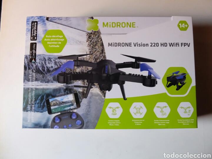 MIDRONE VISION 220 HD WIFI FPV. DRON NUEVO SIN ESTRENAR. (Juguetes - Modelismo y Radiocontrol - Radiocontrol - Aviones y Helicópteros)