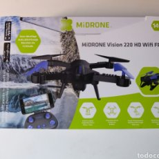 Radio Control: MIDRONE VISION 220 HD WIFI FPV. DRON NUEVO SIN ESTRENAR.. Lote 119681404