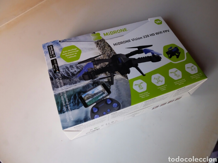 Radio Control: MIDRONE VISION 220 HD WIFI FPV. DRON NUEVO SIN ESTRENAR. - Foto 7 - 119681404