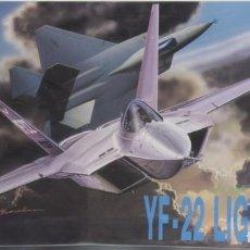 Radio Control: MAQUETA AVIÓN YF-22 LIGHTHING, REF. 2508, 1/72, DRAGÓN. Lote 120859679