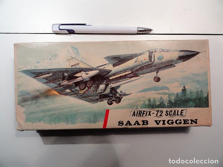 SAAB VIGENT MARCA AIRFIX, ESCALA 1/72 (Juguetes - Modelismo y Radiocontrol - Radiocontrol - Aviones y Helicópteros)