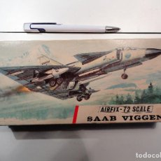 Radio Control: SAAB VIGENT MARCA AIRFIX, ESCALA 1/72. Lote 121640311