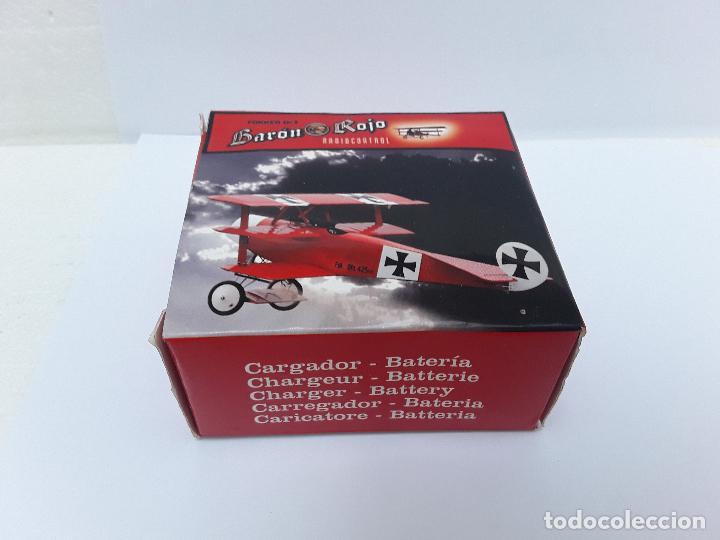 -CARGADOR-FOKKER DR 1- HITEC 100-240V AC-OUTPUT TX 7.2VDC/80MA-RX 4.8VDC/80MA-BATERIA RX 4.8/1600MAH (Juguetes - Modelismo y Radiocontrol - Radiocontrol - Aviones y Helicópteros)