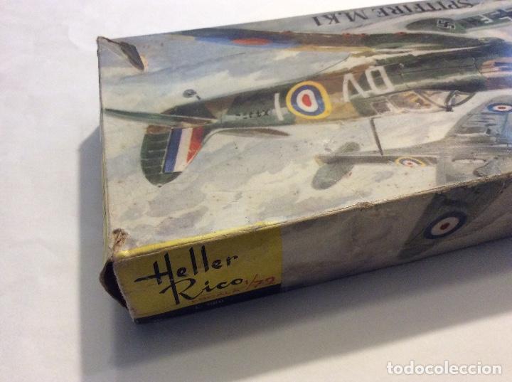 Radio Control: Envío 8€. Spitfire M.K1 de Heller Rico escala 1/72 con su caja original.... - Foto 4 - 121893091