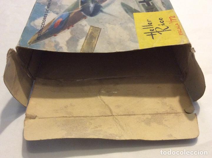 Radio Control: Envío 8€. Spitfire M.K1 de Heller Rico escala 1/72 con su caja original.... - Foto 5 - 121893091