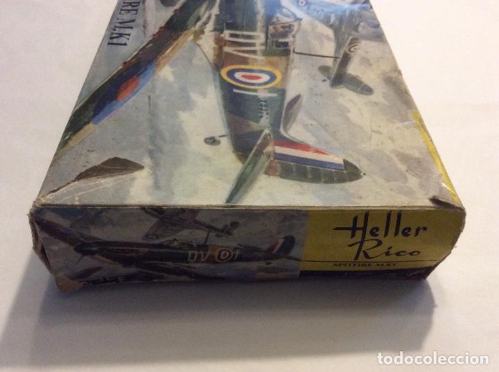 Radio Control: Envío 8€. Spitfire M.K1 de Heller Rico escala 1/72 con su caja original.... - Foto 8 - 121893091