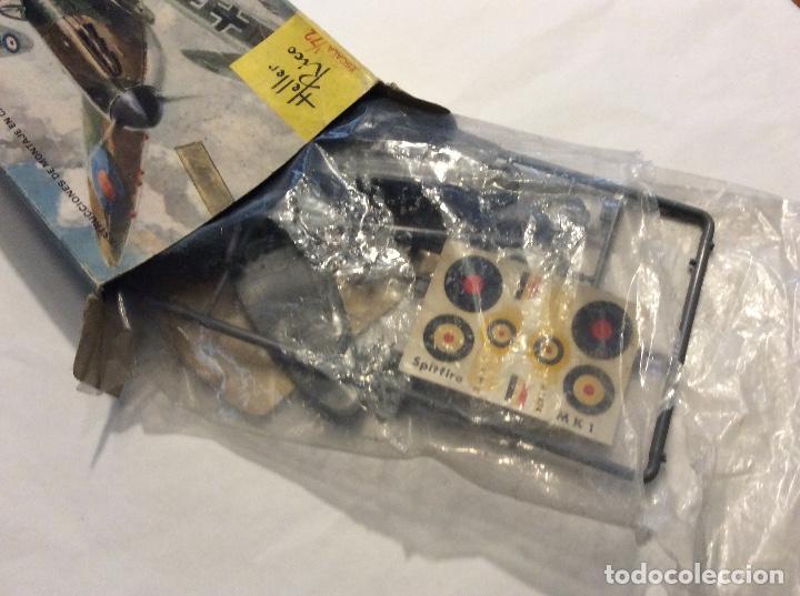 Radio Control: Envío 8€. Spitfire M.K1 de Heller Rico escala 1/72 con su caja original.... - Foto 2 - 121893091