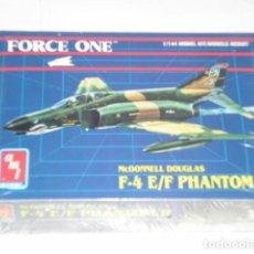 Radio Control: MC DONNELL DOUGLAS F-4 E/F PHANTOM II MAQUETA AVION ESCALA 1/144 FORCE ONE AMT - ARTICULO NUEVO. Lote 122291295