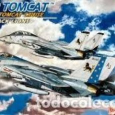 Radio Control: MAQUETA 1/144 - GRUMMAN F-14D TOMCAT THE FINAL TOMCAT CRUISE VF-213 BLACK LIONS DRAGON - NR. 4593 - . Lote 122908127