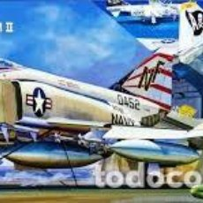 Radio Control: MAQUETA 1/72 - MCDONNELL DOUGLAS F-4B/N PHANTOM II FUJIMI - NR. K-4 - 1:72. Lote 122908795