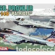Radio Control: MAQUETA 1/144 - GRUMMAN EA-6B PROWLER VAQ-140 PATRIOTS DRAGON - NR. 4589 - 1:144. Lote 122909015