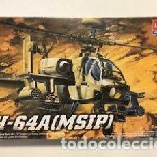 Radio Control: MAQUETA 1/48 - AH-64A APACHE (MSIP) ACADEMY - NR. 02115 - 1:48. Lote 122909775