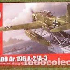 Radio Control: MAQUETA 1/72 - ARADO AR.196 A-2/A-3 AIRFIX - NR. A02019 - 1:72. Lote 122909955