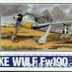 Radio Control: MAQUETA 1/48 - FOCKE-WULF FW190 ARII - NR. A335-600 - 1:48. Lote 122911431
