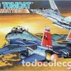 Radio Control: MAQUETA 1/144 - GRUMMAN F-14D TOMCAT VF-31 TOMCATTERS DRAGON - NR. 4592 - 1:144. Lote 122911603