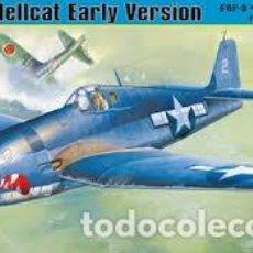 Radio Control: MAQUETA 1/48 - GRUMMAN F6F-3 HELLCAT EARLY VERSION HOBBY BOSS - NR. 80338 - 1:48. Lote 122911975
