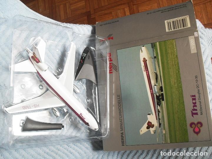 AVION HERPA DC 10 ESCALA 1 /200 THAI REF 552394 (Juguetes - Modelismo y Radiocontrol - Radiocontrol - Aviones y Helicópteros)