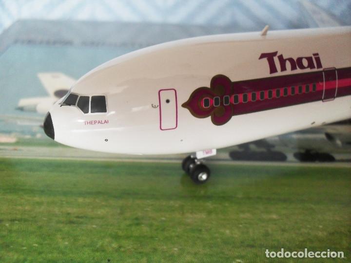 Radio Control: avion herpa DC 10 escala 1 /200 THAI ref 552394 - Foto 2 - 120326195