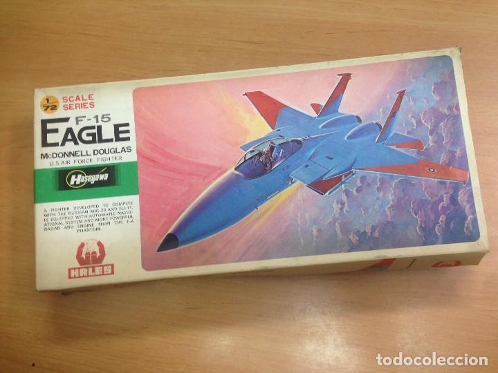 MAQUETA NUNCA MONTADA AVION F-15 EAGLE SCALE 1/72 MARCA HALES (Juguetes - Modelismo y Radiocontrol - Radiocontrol - Aviones y Helicópteros)