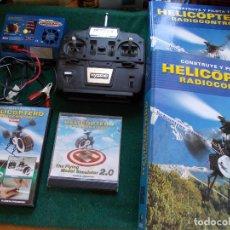 Radio Control: LOTE RADIOCONTROL HELICOPTEROS. Lote 128006719