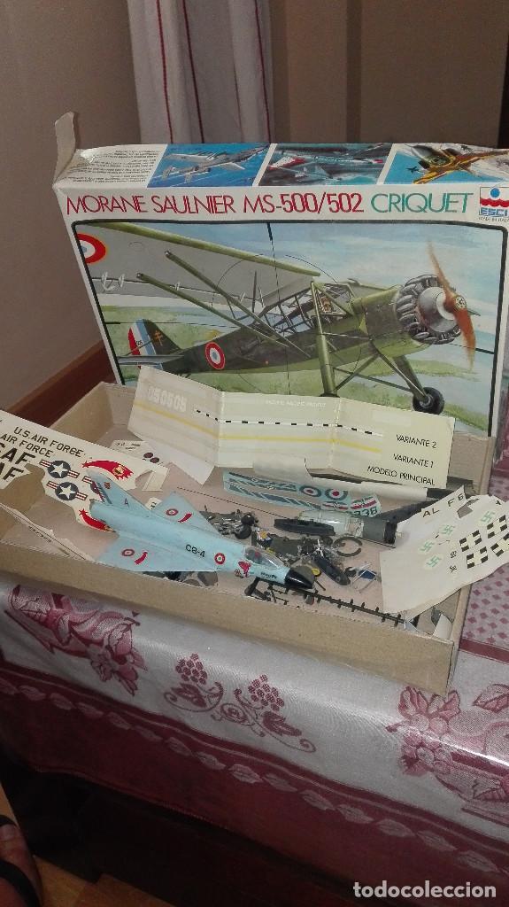 LOTE PIEZAS AVIONES MODELISMO (Juguetes - Modelismo y Radiocontrol - Radiocontrol - Aviones y Helicópteros)