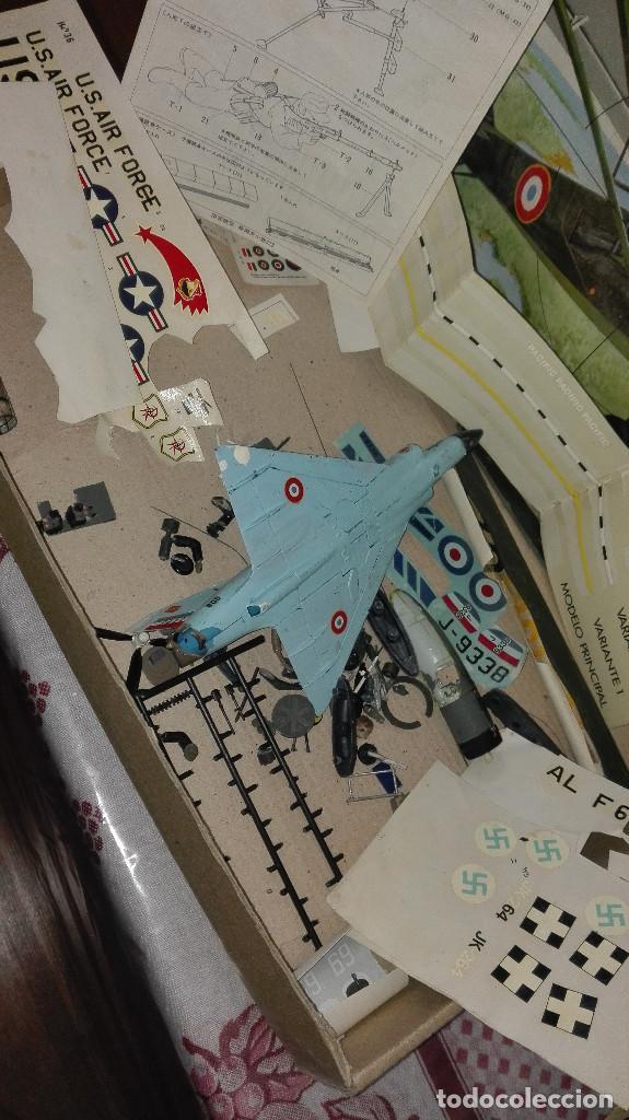 Radio Control: lote piezas aviones modelismo - Foto 2 - 129431763