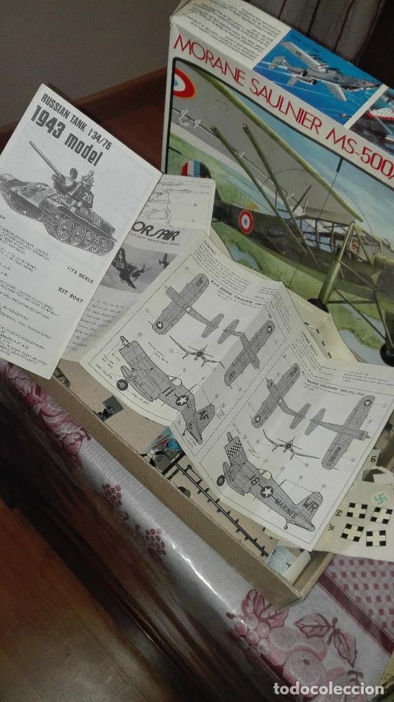 Radio Control: lote piezas aviones modelismo - Foto 3 - 129431763