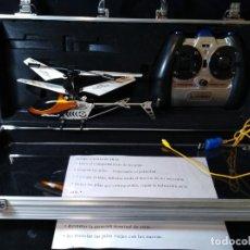 Radio Control: HELICÓPTERO A DISTANCIA EN CAJA METÁLICA E. HOBBY. Lote 132800118