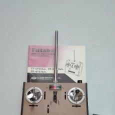 Radio Control: EMISORA ORIGINAL FUTABA CON 40 AÑOS DE ANTIGUEDAD QUE FUNCIONA. Lote 133206918