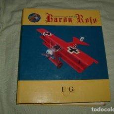 Radio Control: CONSTRUYE EL AVION DEL BARON ROJO , 100 FASCICULOS EN UN SOLO ARCHIVADOR. Lote 134325826